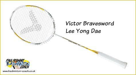 Raket Victor Brave Sword Lyd victor bravesword yong dae badminton racquet review