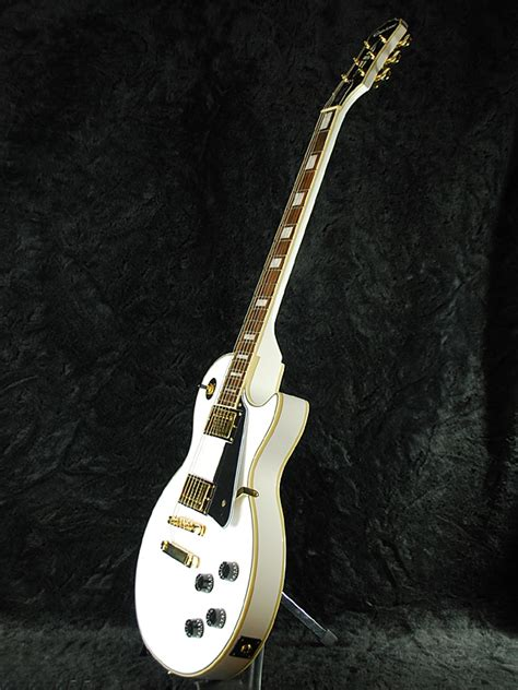 my new epiphone les paul custom alpine white mylespaul guitar planet rakuten global market brand new alpine