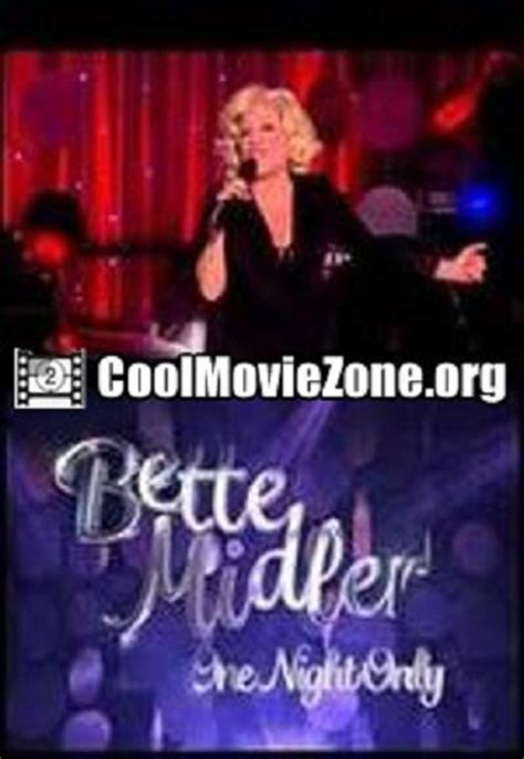 bette one bette midler one only free