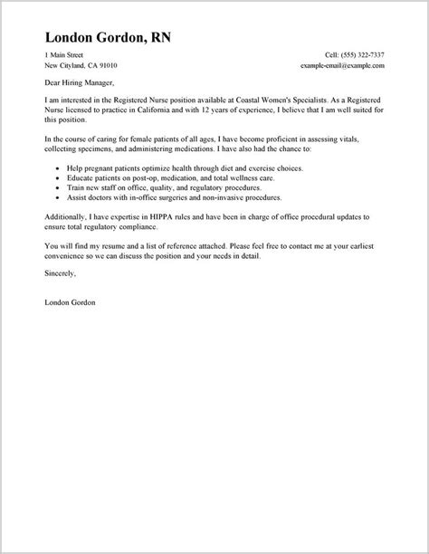 cover letter for any position cover letter for any position exle cover letter
