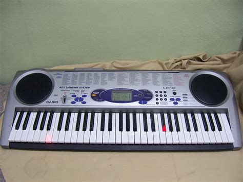 casio keyboard light up casio lk 43 keyboard 61 key size keyboard with light