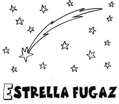 imagenes para dibujar a lapiz estrellas dibujo de una estrella fugaz para colorear dibujos del