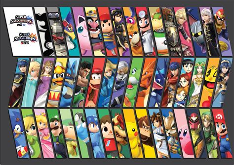 Smash Bros comparatif smash bros wii u les gameusesles gameuses