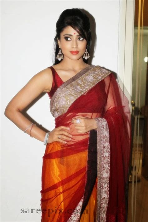 shriya sareeblousefashioncom shriya saran in saree at children dance performance