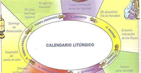 K Es Calendario Liturgico Parroquia La Inmaculada Recursos Catequesis Calendario