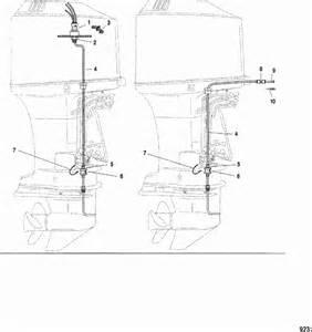 mercury marine v 150 hp dfi 2 5l speedometer system parts