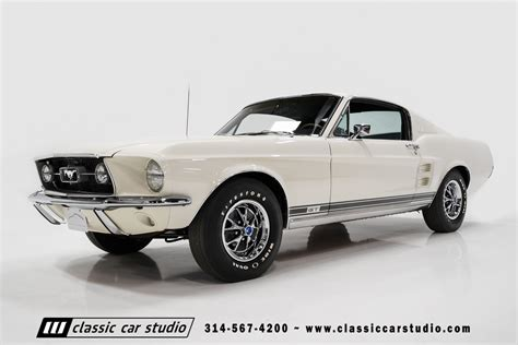 1967 chevy mustang 1967 ford mustang gt 390 classic car studio