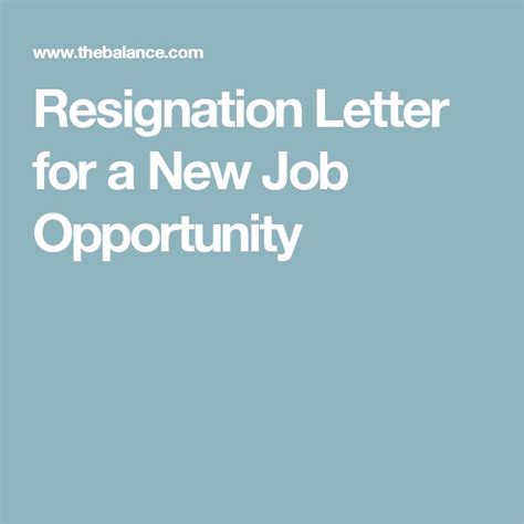 resignation letter for a new opportunity best 20 resignation email sle ideas on