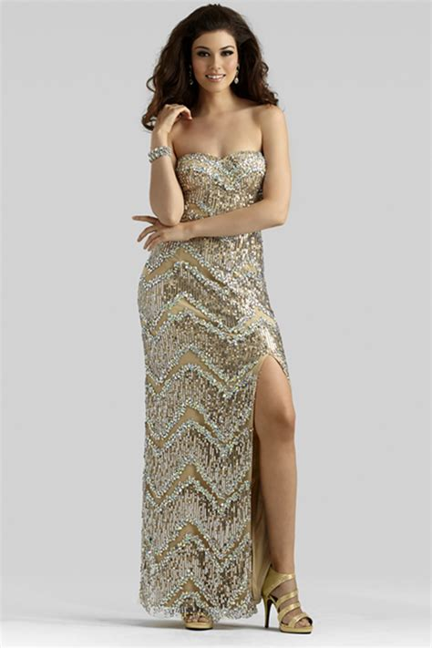 all beaded prom dresses clarisse 2014 taupe strapless sweetheart all beaded