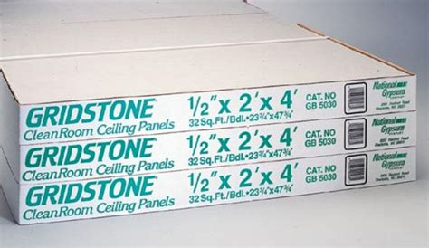 2 x 4 gridstone cleanroom ceiling panel at capitol