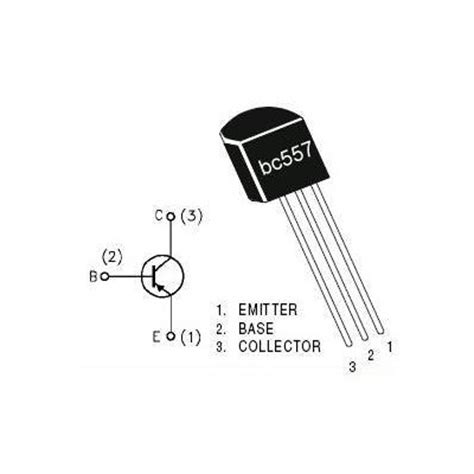 bc557 pnp transistor description bc557 pnp transistor techstore