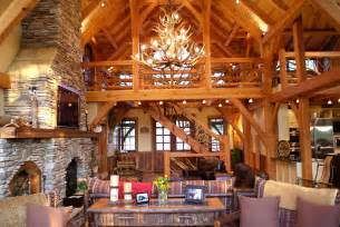 timber frame home interiors attractive timber frame interior ct houzz