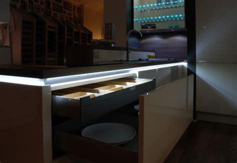 kitchen showroom led lighting black rok kitchen design