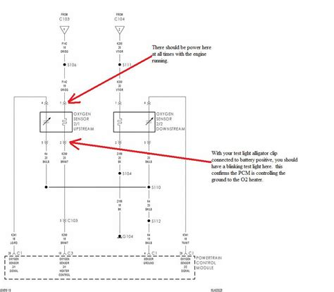jeep liberty o2 sensor wiring diagram wiring diagram