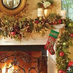 mantelpiece garlands mantel garlands happy holidays
