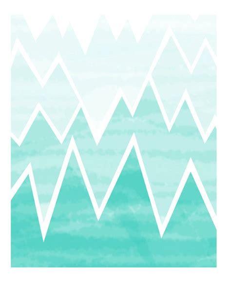 pattern aqua blue mountains mountain pinterest ombre aqua and