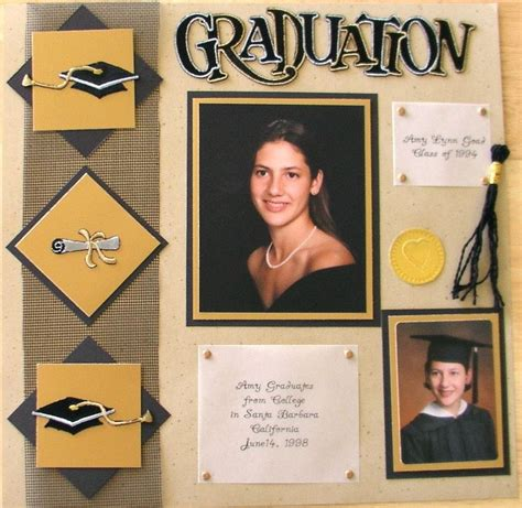 scrapbook layout graduation graduation scrapbook com formal layouts grad prom