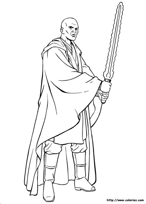 Mace Windu Coloring Pages wars mace windu coloring pages pictures to pin on