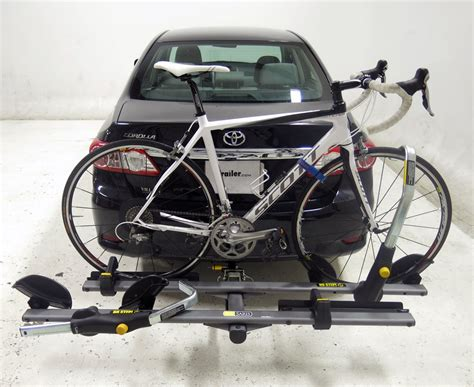 saris cycle on pro bike rack hitch bike racks etrailer com