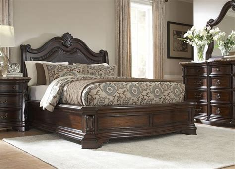 bedroom furniture villa sonoma king platform bed