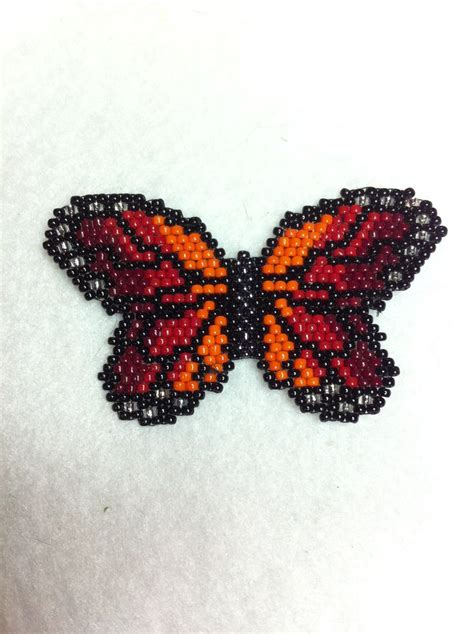 the beading butterfly beaded sunset monarch butterfly beaded butterfly want