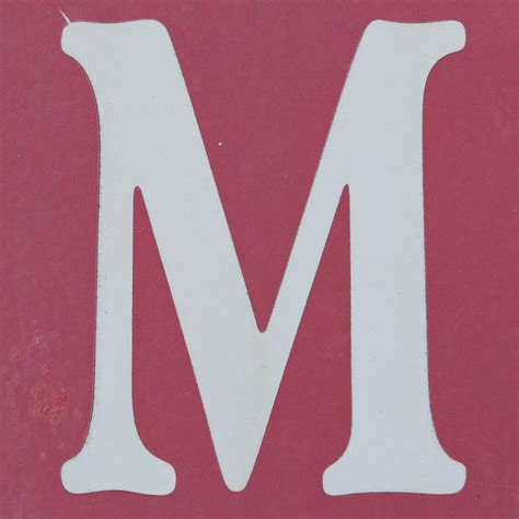 M Search For A Letter M