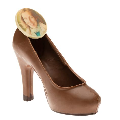 chocolate high heels a delicious chocolate shoe with