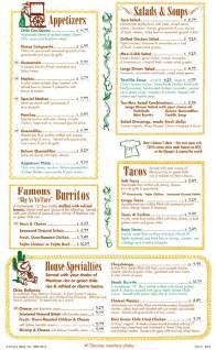 Chuy s mexican restaurant gainesville restaurant menus order food