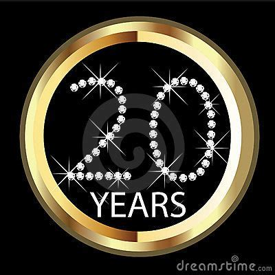 20th Years Anniversary Stock Images   Image: 22984254