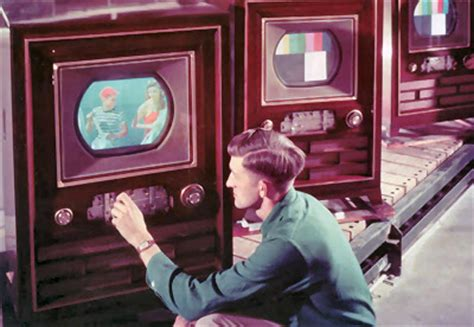 when were colored tvs invented color television set 1953 the year of treason