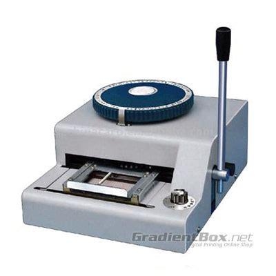 Mesin Laminating Untuk Id Card mesin emboss untuk id card rp 5 9 juta