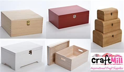Wooden Blanks For Decoupage - plain wooden boxes decoupage blanks craftmill