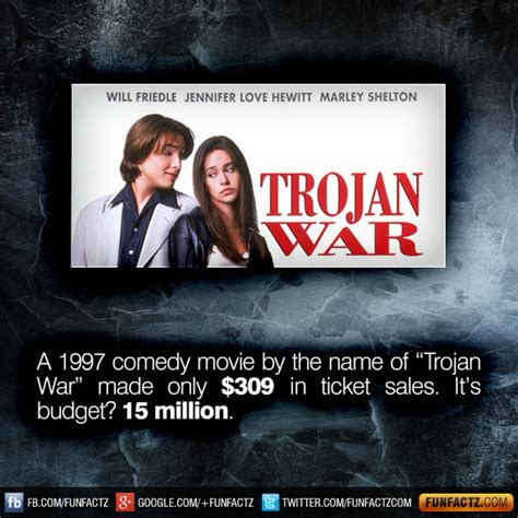 film comedy war a 1997 comedy movie by the name of trojan war made only