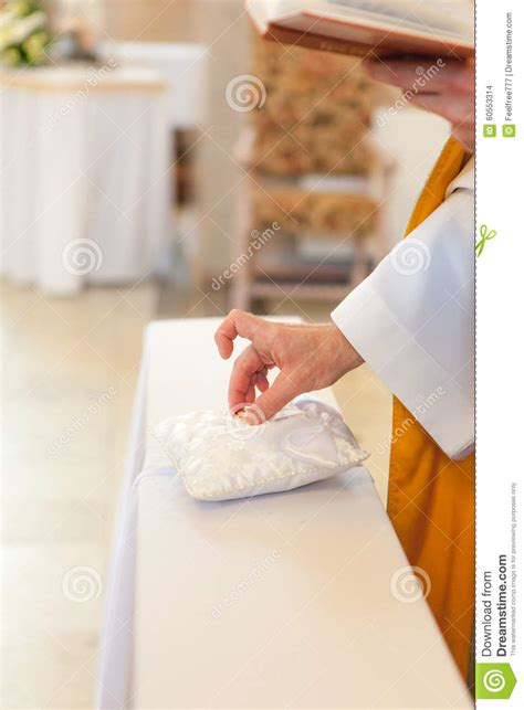 blessing your wedding rings blessing of the wedding rings stock photo image 60553314