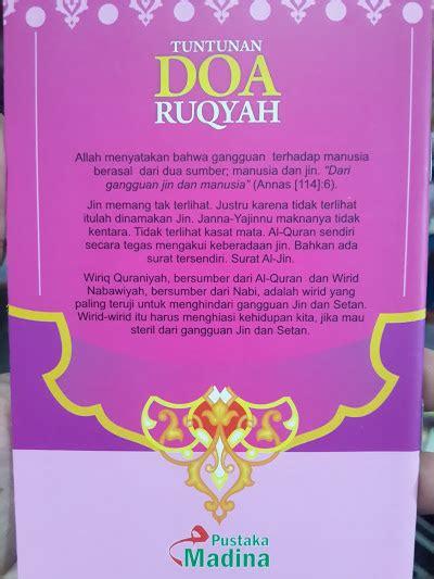 Doa Zikir Ruqyah buku saku tuntunan doa ruqyah