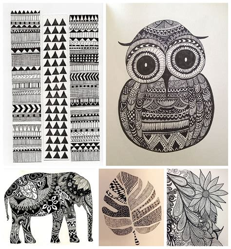 zentangle patterns art pinterest zentangle patterns a type of art you have to try right now tico tina