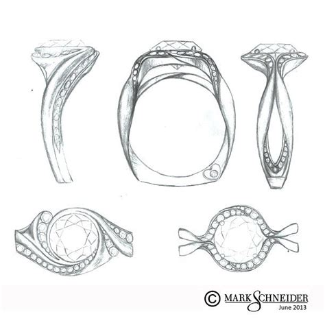 sketchbook ring 78 best images about ring sketches on ring