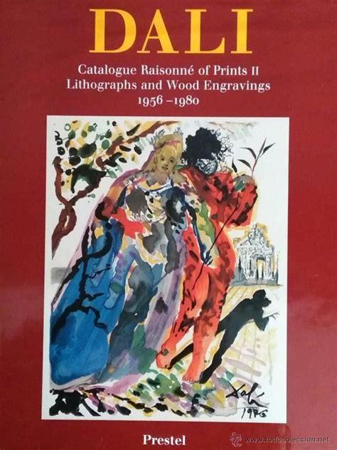 libro salvador dal das malerische salvador dali cat 225 logo razonado de litograf 237 as y grabados 1956 1980 foto 1 coleccion