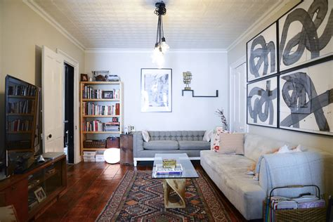 Home Interior Design For Small Homes Gorgeous Brooklyn Apartment Is Something Both Men And