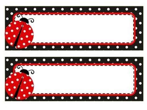 free printable ladybug name tags 492 best images about značky v mš on pinterest tatty