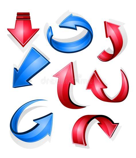 clipart frecce frecce ed icone lucide illustrazione vettoriale