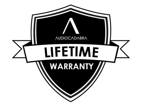 lifetime warrenty lifetime warranty audiocadabra