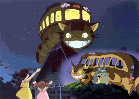 ghibli cat film ghibli museum to unveil life size catbus comic con geek