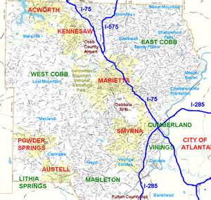 cobb county map best schools cobb county atlanta marietta