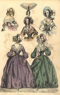 Victorian Time The Creative Doll Early Victorian Fashions 1837 1860