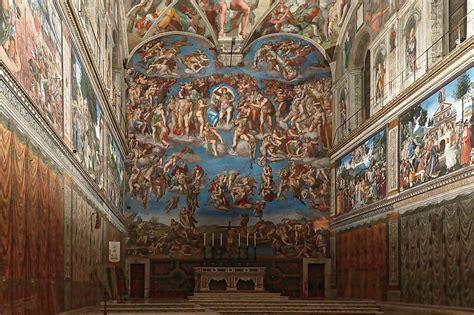 La Chapelle Sixtine Plafond by Chapelle Sixtine 224 Rome Chef D Oeuvre De Michel Ange