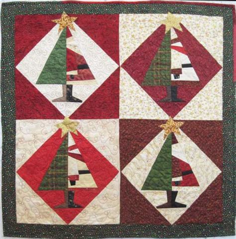 Santa Quilt Pattern by Quilt Inspiration Santa Baby
