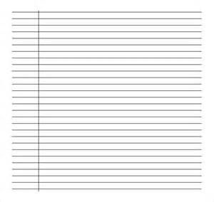 ruled paper template word sle college ruled paper template 9 free documents in