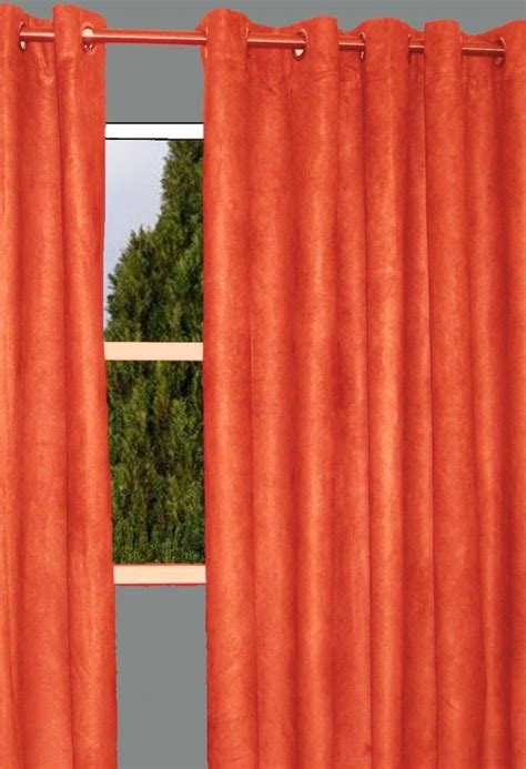 orange curtains burnt orange shower curtain furniture ideas