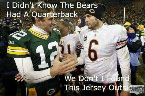Bears Packers Meme - pin by l johnson on green bay packers pinterest